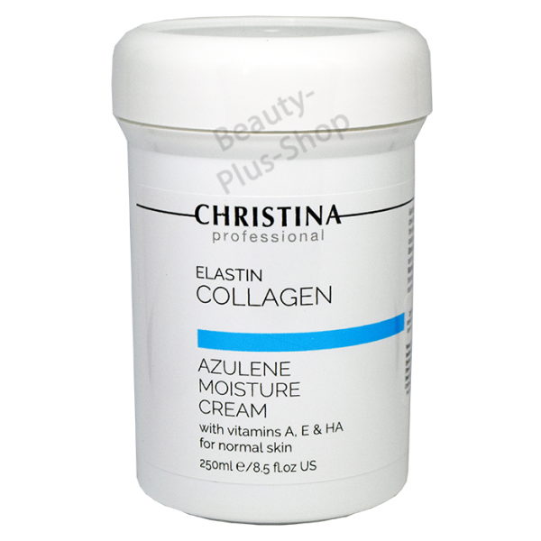 Christina - Elastin Collagen Azulene Moisture Cream 250ml