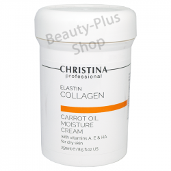 Christina - Elastin Collagen Carrot Oil Moisture Cream 250ml