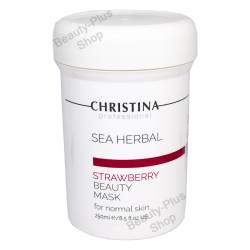Christina - Strawberry Sea Herbal Beauty Mask For Normal Skin 250ml