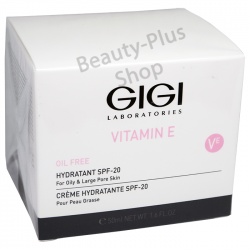 GIGI - Vitamin E Hydratant Cream SPF 20 For Oily Skin
